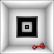 Doom (chess metaphors) - stock illustration