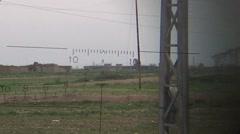 Looking through weapon scope (Kurdish/ISIS frontline) Stock Footage