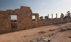 Cyprus Greece antic ruin - stock photo