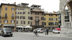 Mediteranium daily life Stock Footage