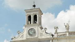 Italian Church 18th Century Stock Footage