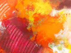 Stock Photo of Abstract wallpaper, texture, background of close-up fragment of acrylic paint