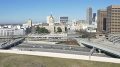 Government Building Atlanta Ga Stock Footage