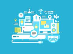 Stock Illustration of Internet of things