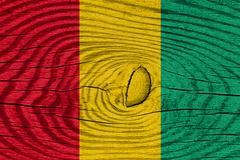 Guinea flag - stock illustration