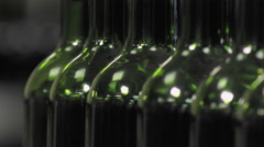 Bordeaux Saint Emilion bottling unit Stock Footage