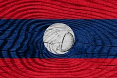 Laos flas - stock illustration