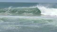 Nicaragua Surfing - stock footage