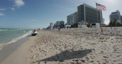 Miami Beach - GH4 4k Stock Footage