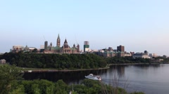 Parliament Hill in summer Stock Footage