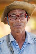 Thai man portrait Stock Photos