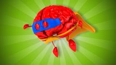 Super brain Stock Footage