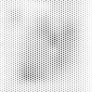 Halftone, dotted abstract background Stock Illustration