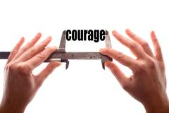 Small courage concept Stock Photos