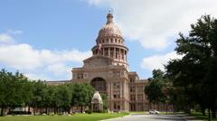 Austin Texas Capitol Building Stock Footage