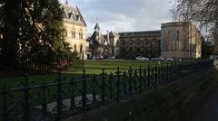 Oxford University Oxford, England, Europe Arkistovideo
