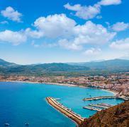 Stock Photo of Xabia Javea Mediterranean village in Alicante
