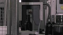 Bordeaux Saint Emilion bottling unit Stock Footage