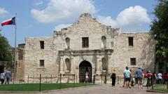 The Alamo San Antonio Texas Stock Footage