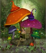 Fairy Daina Stock Illustration