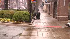 Winter Scenes In Greenville South Carolina Stock Footage