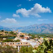 Stock Photo of Benidoleig village in Alicante Spain