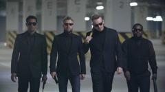 Mafia Bosses Stock Footage