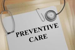 Preventative Care concept Stock Illustration