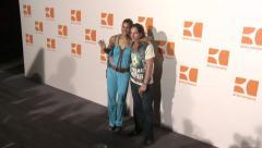 Annabelle Mandeng Fashion Week Boss Orange 2009 Stock Footage