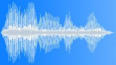 Subsonic rumble creak - sound effect