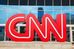 CNN Center in Atlanta Stock Photos