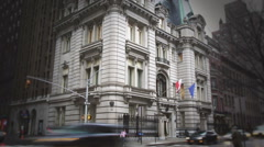 Polish Consulate NYC - Editorial Use Stock Footage