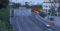 Santa Monica Tunnel at Dawn Clip 5 TRT 00.10.00 4K 40847 - stock footage