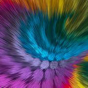 Artistic background of vibrant colors Stock Illustration