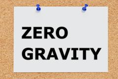 Stock Illustration of Zero Gravity concept
