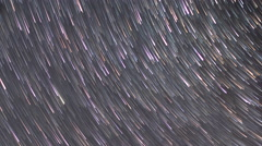 Stars leave traces Stock Footage