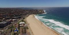 Maroubra Beach 4K Drone 2 Stock Footage