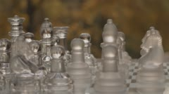 Game Of Chess Outdoors Variation Two - stock footage