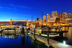 Vancouver False Creek - stock photo