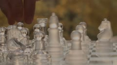 Game Of Chess Outdoors Variation Three - stock footage