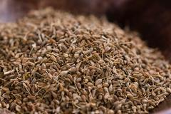 Portion of Anise Seeds Stock Photos