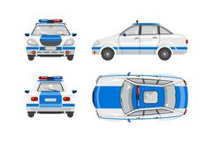 Police car  - stock illustration