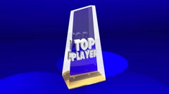 Top Player Athlete Award Prize Best Performance Arkistovideo