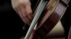 Violin - stock footage