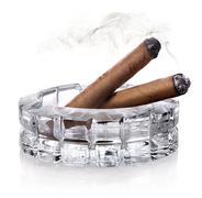Cigars in ashtray - stock photo