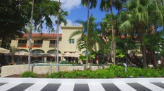 Lincoln Road landscape Stock Footage