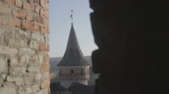 Old Castle - stock footage