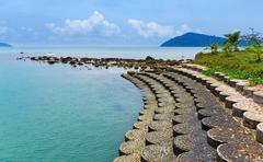 Stock Photo of Coastline of the tropical island Koh Chang