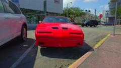 Pontiac GT Transam Stock Footage