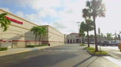 Target Hollywood FL Stock Footage